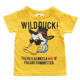 jeans-b. 2nd wild duck Tシャツ (イエロー)